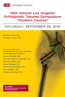 "10th Annual  Los Angeles Orthopedic Trauma Symposium ""The Masters Course"" Banner"