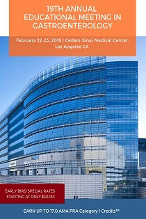19th Annual Educational Meeting in Gastroenterology Banner