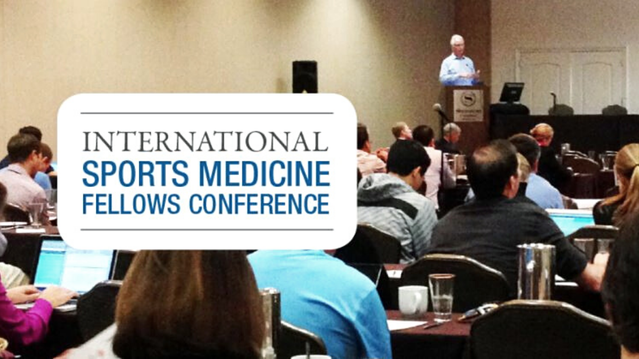 2021 International Sports Medicine Fellows Conference Banner
