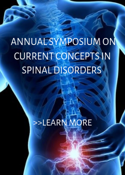 19th Annual Symposium on Current Concepts in Spinal Disorders Banner