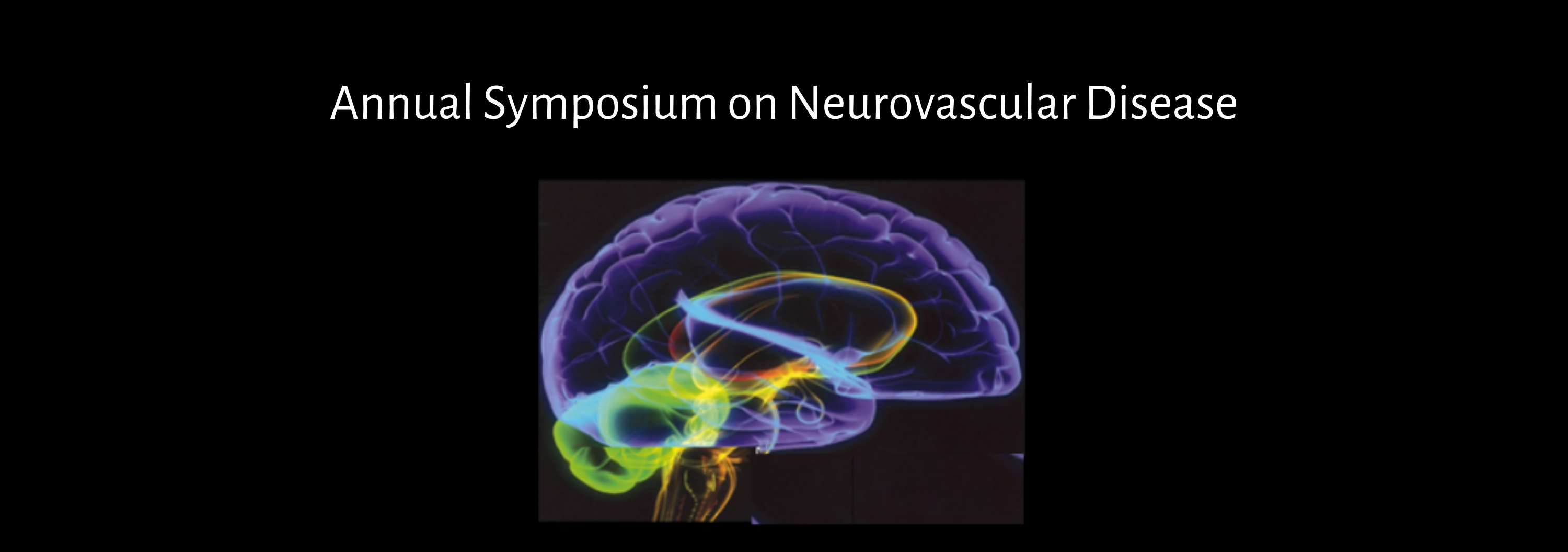 12th Annual Symposium on Neurovascular Disease: Technology and Trials Update Banner