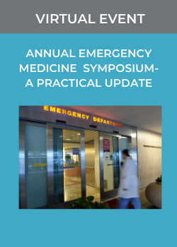 18th Annual Emergency Medicine Symposium - A Practical Update Banner