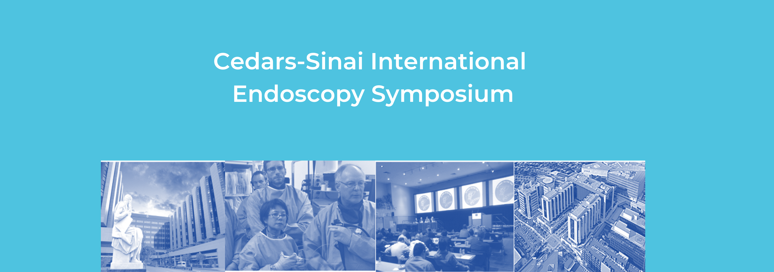 2020 Cedars-Sinai International Endoscopy Symposium Banner
