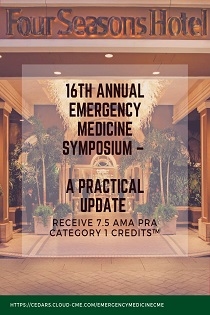 16th Annual Emergency Medicine Symposium – A Practical Update Banner