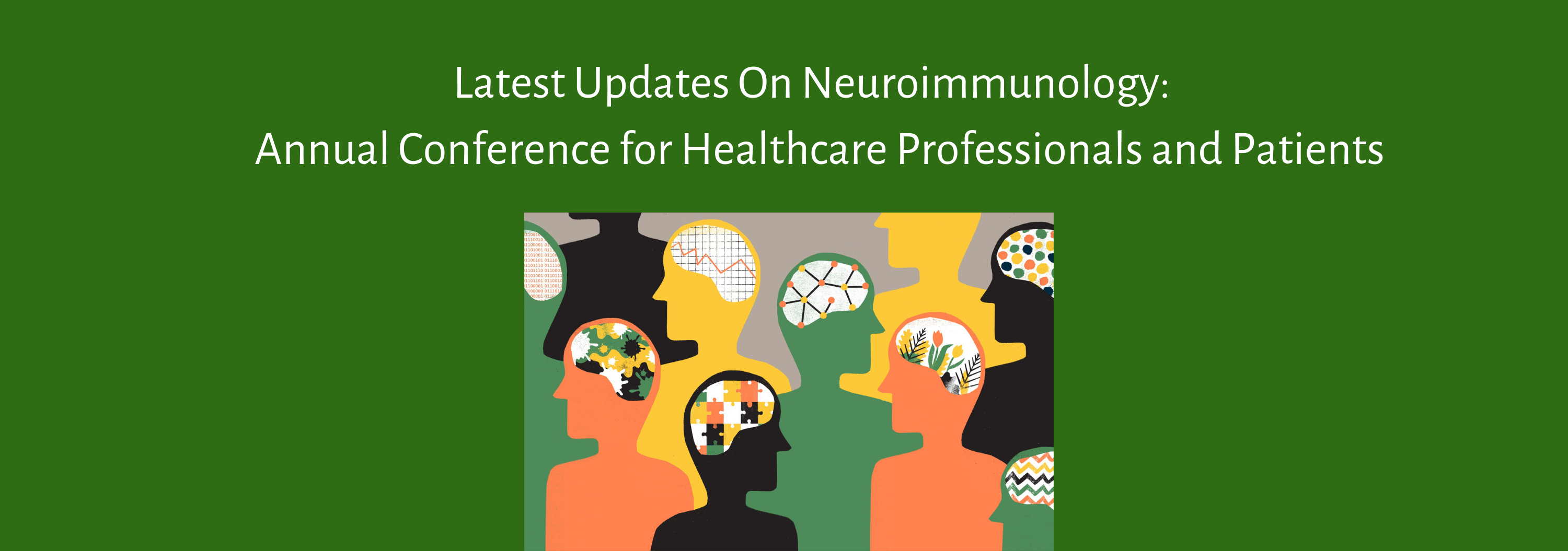 Latest Updates On Neuroimmunology: 4th Annual Conference for Healthcare Professionals and Patients Banner