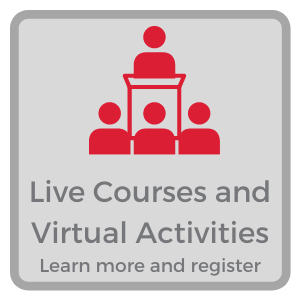 Learn about live courses and webinars