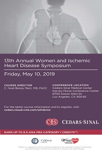 13th Annual Women and Ischemic Heart Disease Symposium Banner